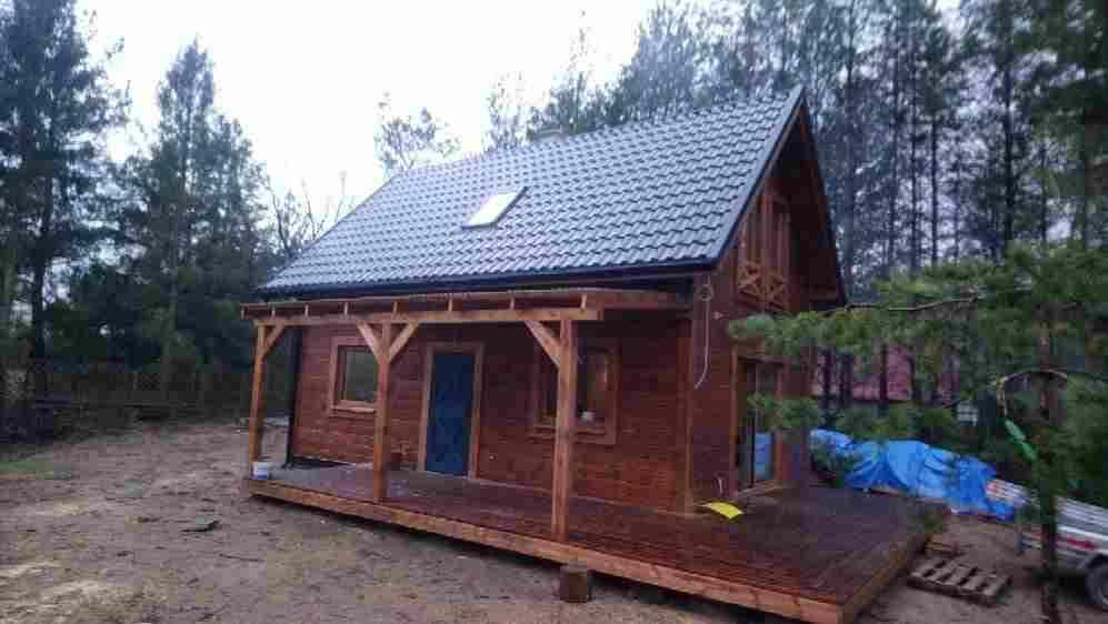 Dom drewniany Gostomko