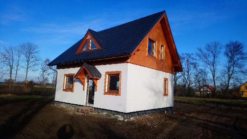 dom drewniany szkieletowy