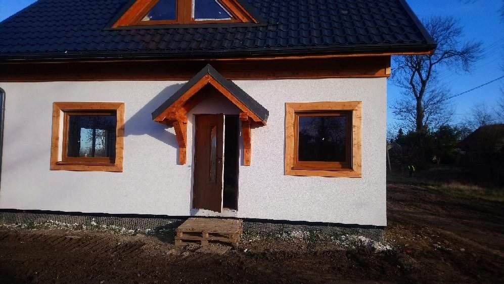 domy drewniane pomorskie